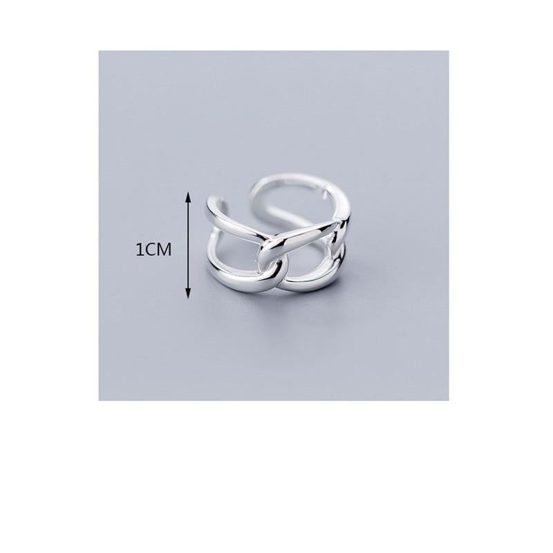 Dauntless Knots Sterling Silver Ring