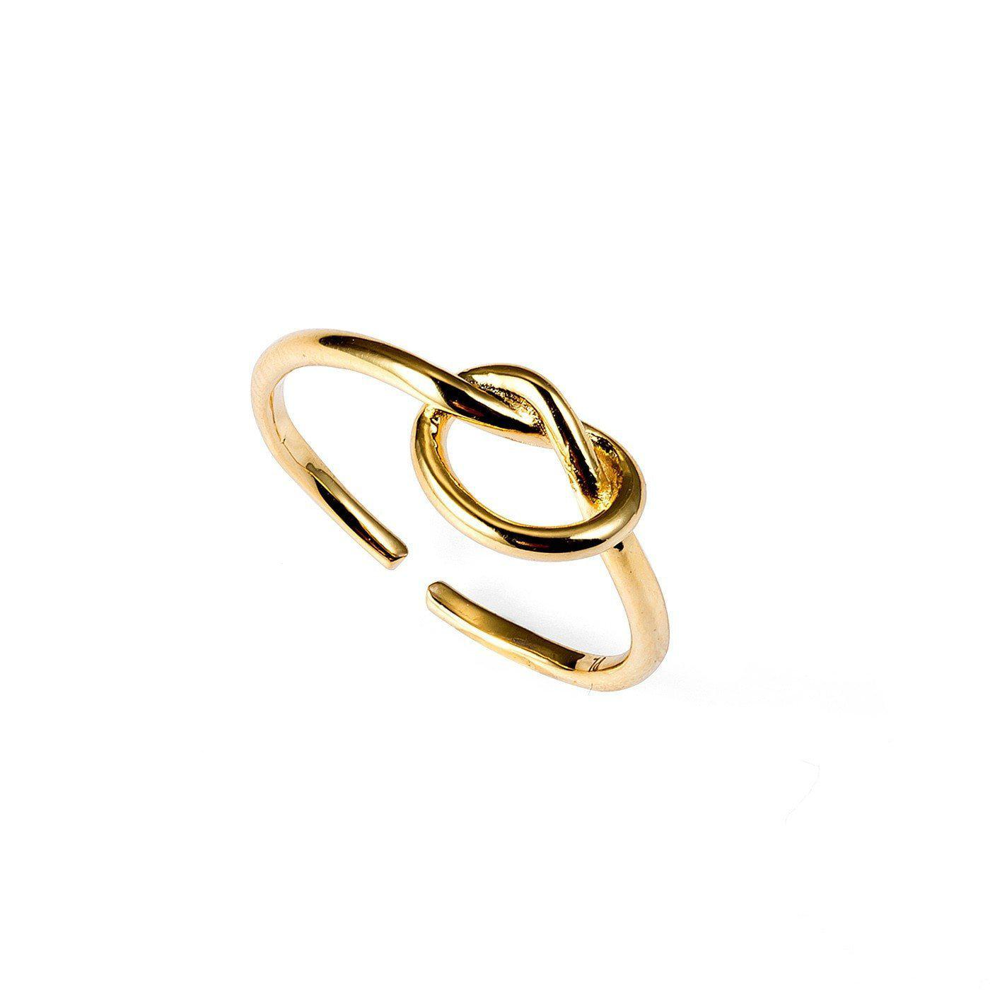 Dauntless Knot Toe Ring-Blinglane