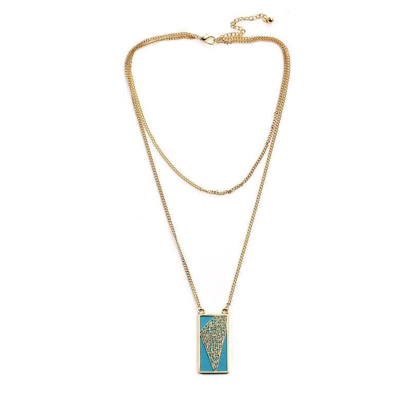 Delightful Blue Necklace-Blinglane