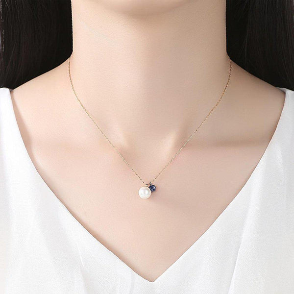 Ebony & Ivory Charms Necklace-Blinglane
