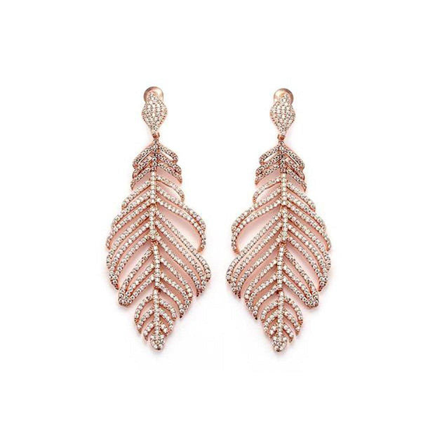 Enticing Elite Statement Earrings-Blinglane