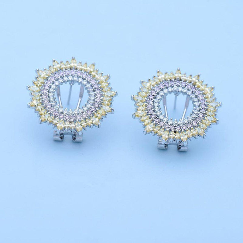 Evening Glory Luxe Studs-Blinglane
