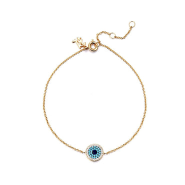 Exclusive Evil Eye Anklet-Blinglane
