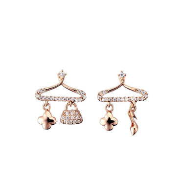 Fashionista Me Earrings-Blinglane