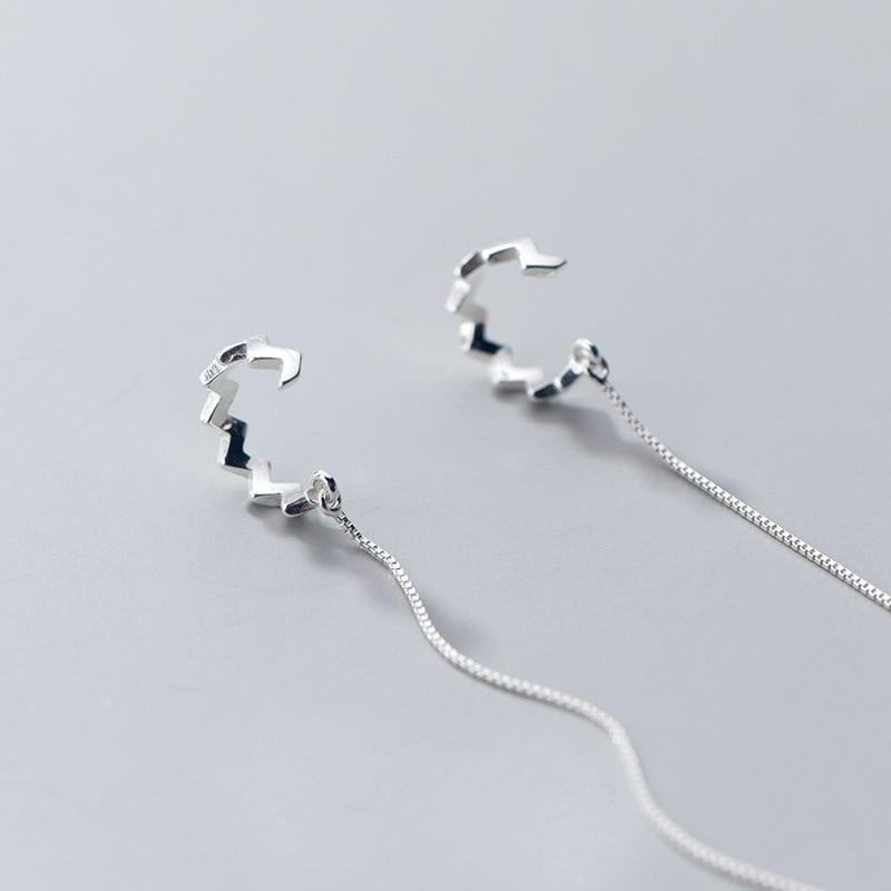 Final March 74-Silver Earrings-Blinglane