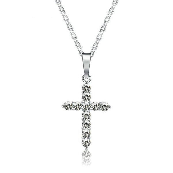 Fine Cross Pendant Necklace-Blinglane