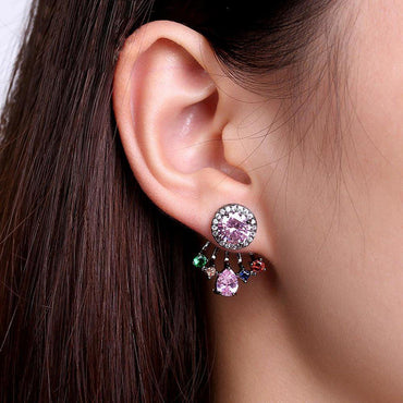 Fleur Elite Stud Earrings-Blinglane
