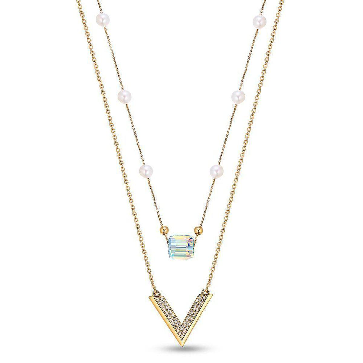 Glorious Elegance Long Necklace-Blinglane