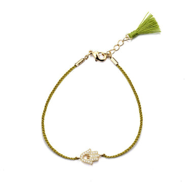 Hamsa Friendship Bracelet-Blinglane