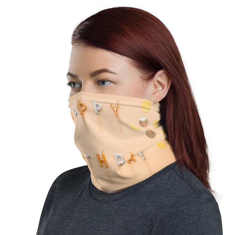 Happy Birthday Neck Gaiter-Neck Gaiters-Blinglane