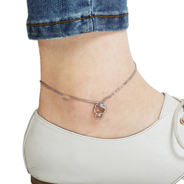 Hello Kitty Charm Anklet-Blinglane