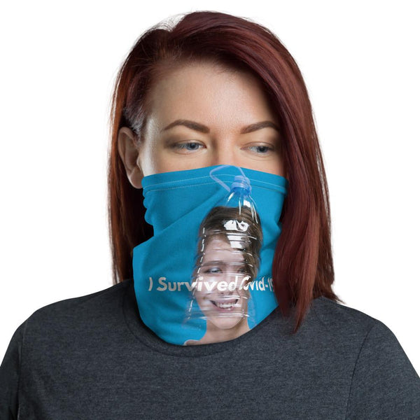 I Survived Covid-19 Funny Neck Gaiter-Neck Gaiters-Blinglane