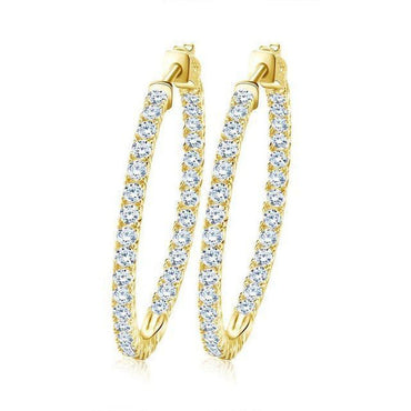 Illusion French Hoops-Blinglane