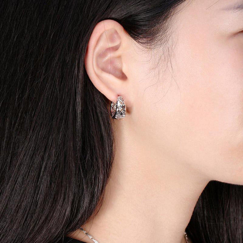 Indigenous Filigree Hoop Earrings-Blinglane
