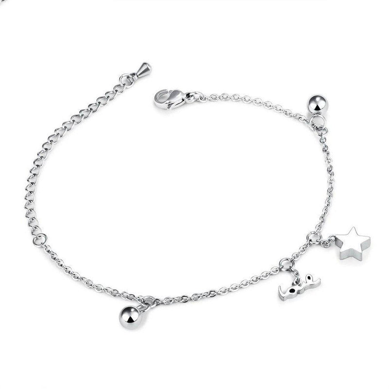 Love Star Charms Bracelet-Blinglane