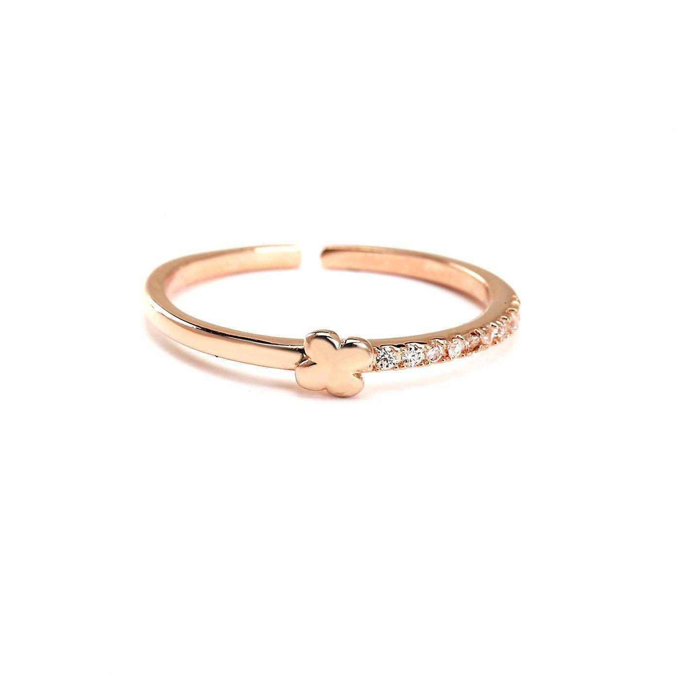 Lucky Clover Ring-Blinglane
