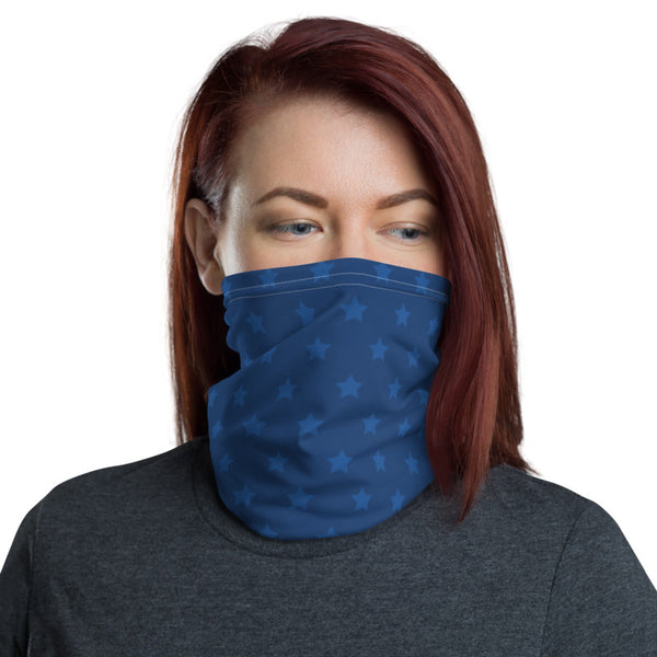 Midnight Stars Neck Gaiter