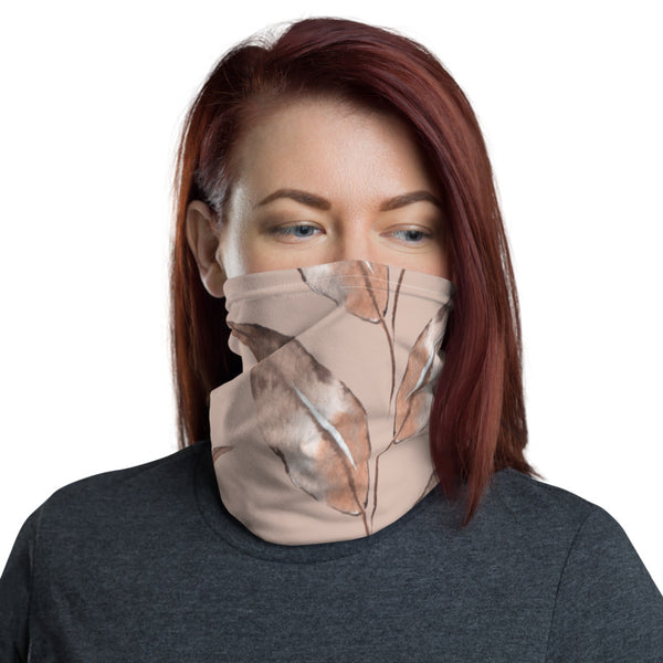 Subtle Shades of Brown Neck Gaiter