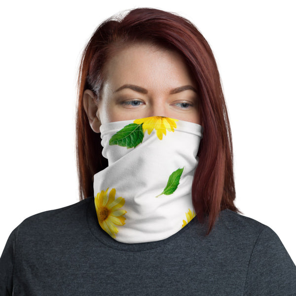 Fresh Sunflowers Neck Gaiter