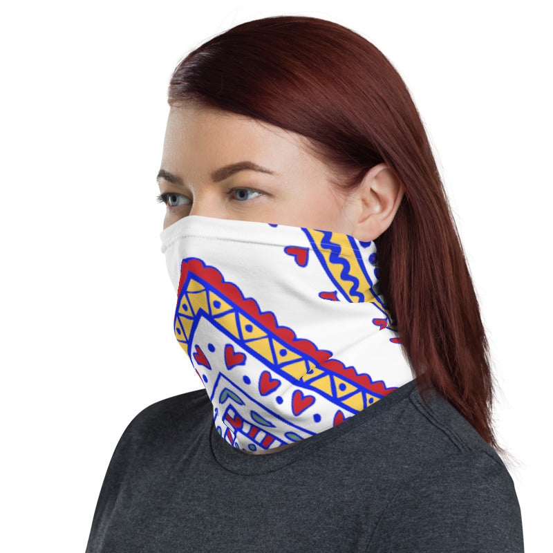 Rangoli Art Neck Gaiter