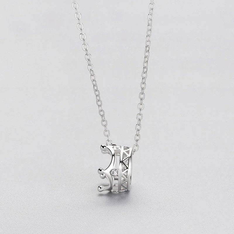 Would Be Princess Sterling Silver Minimal Necklace
