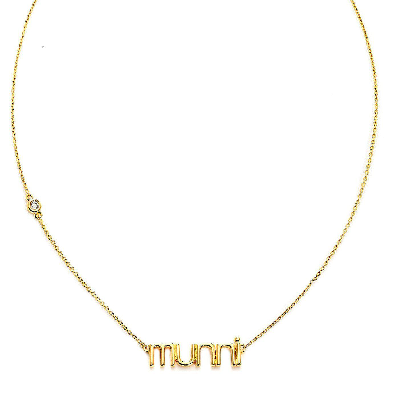 Nickname Munni Necklace-Blinglane