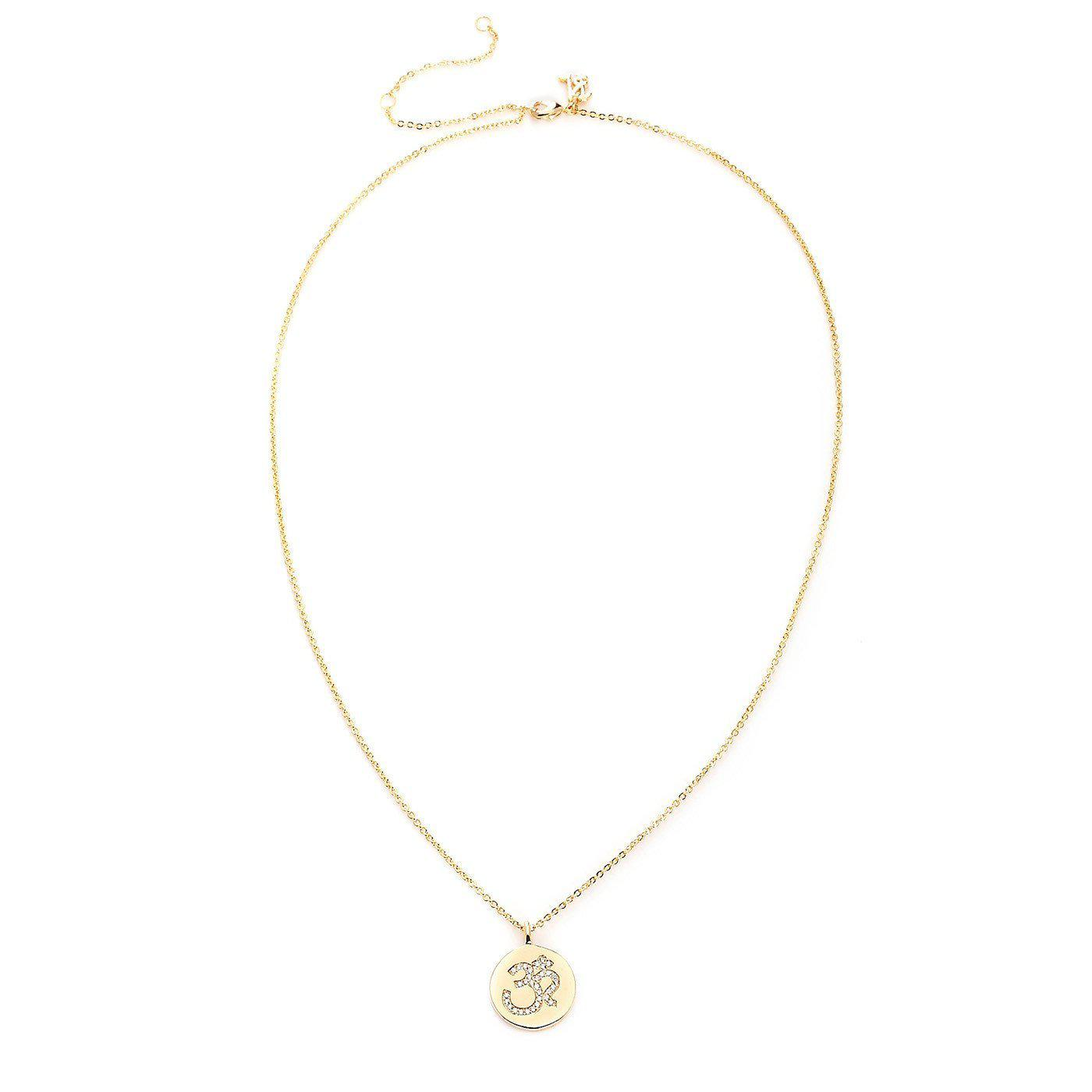 Om Elegant Fashion Pendant Necklace-Blinglane