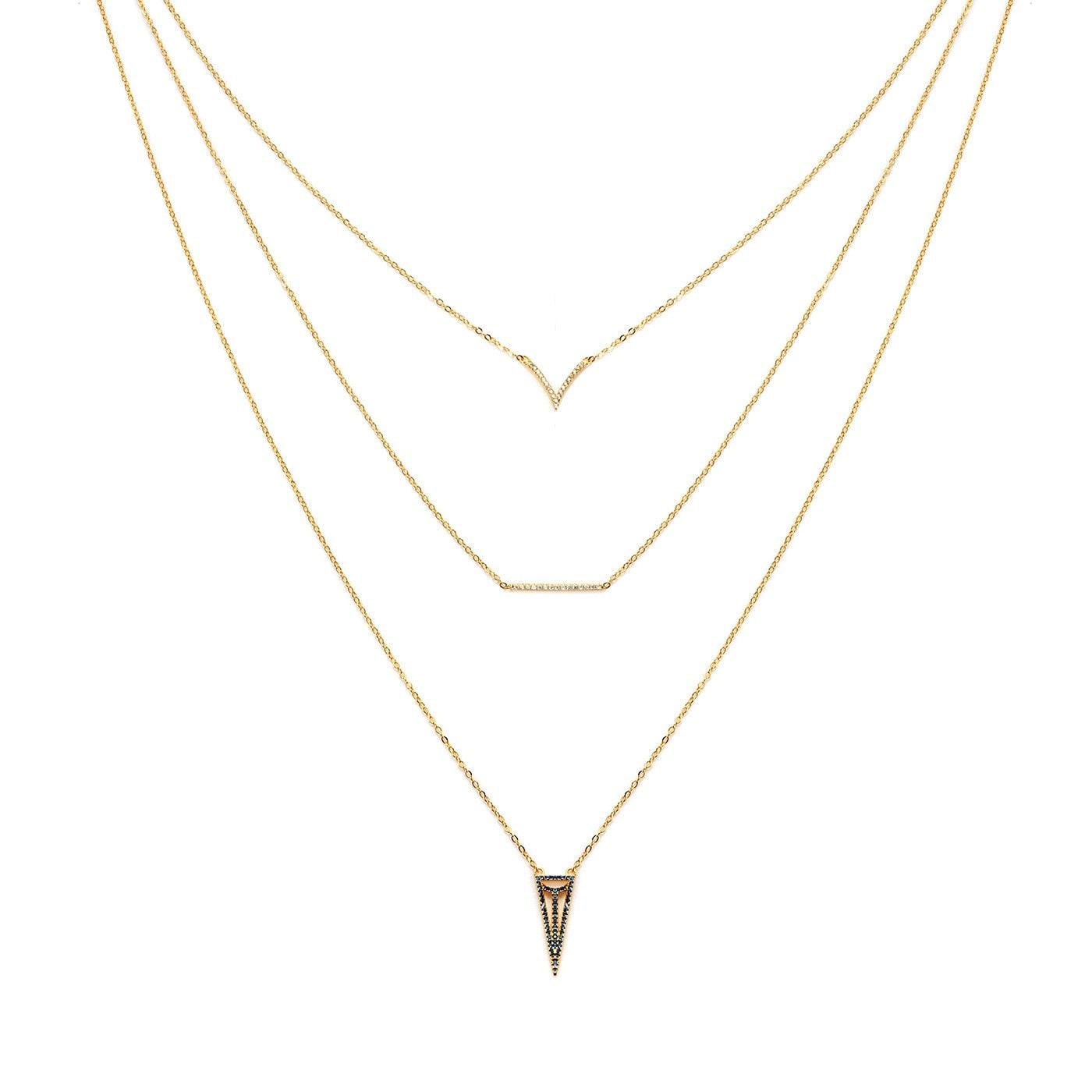 Opulent Charms Elite Layered Necklace-Blinglane