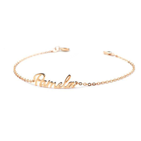 Personalize Your Name Fashion Anklet