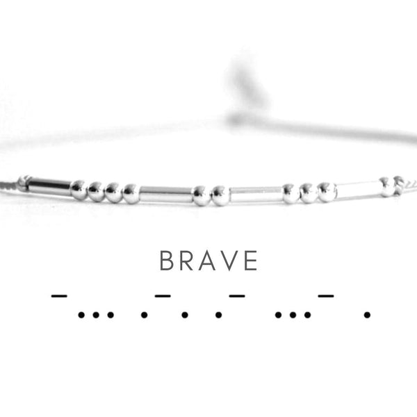 Personalize Your Morse Code Fashion Bracelet-Blinglane
