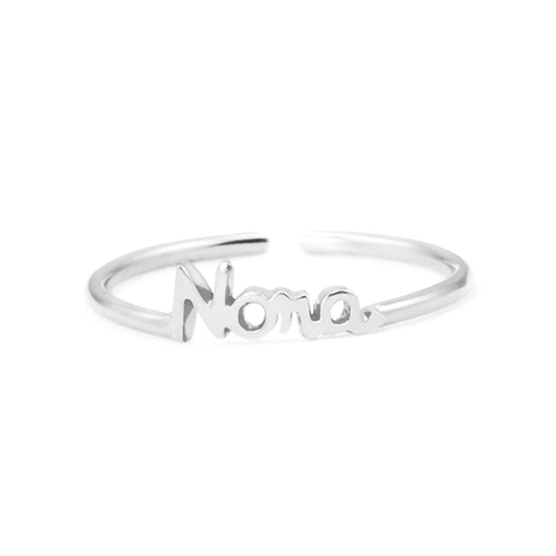 Personalize Your Name Elegant  Ring
