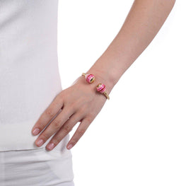 Pink cotton Candy Bracelet-Blinglane