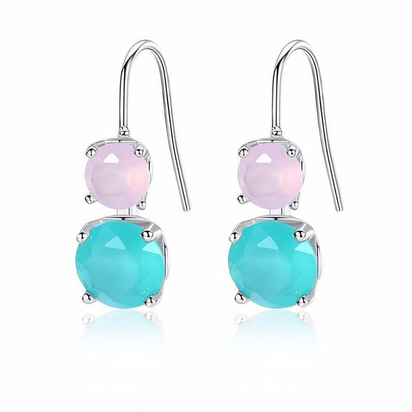 Pretty Pastels French Hoops-Blinglane
