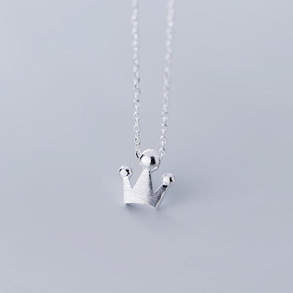 Princess Me Minimal Sterling Silver Necklace
