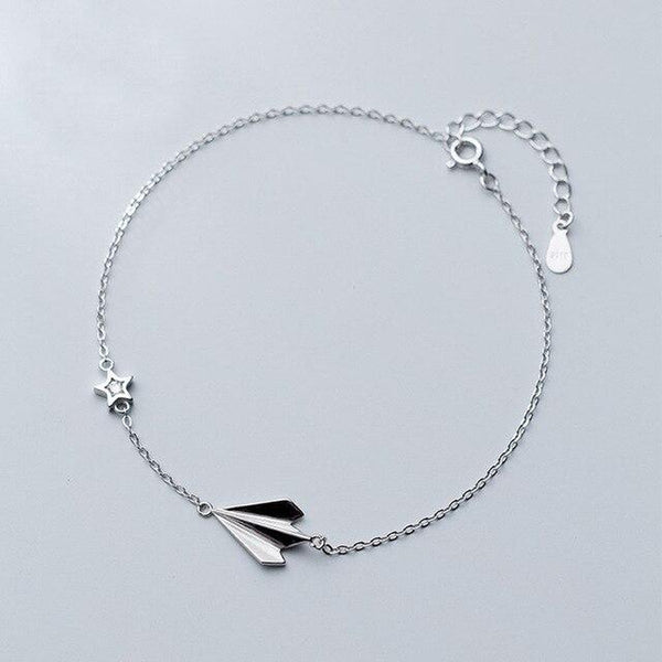Take Me To Stars Sterling Silver Anklet
