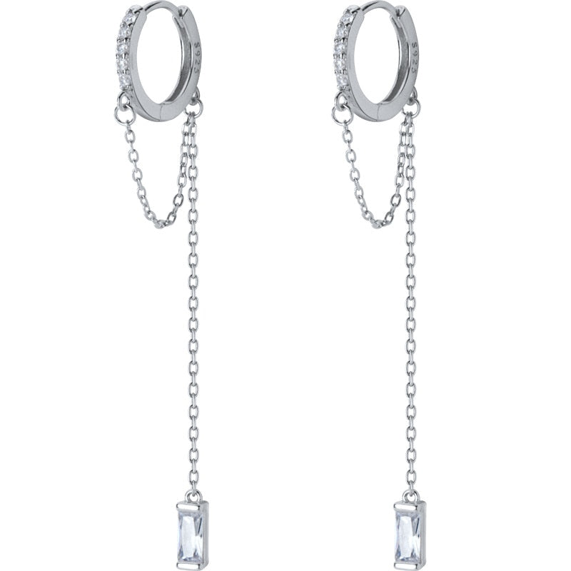 Sophisticated Drapes  Drop Earrings