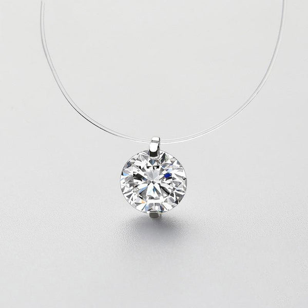 Concealed Sexy Solitaire Neckpiece
