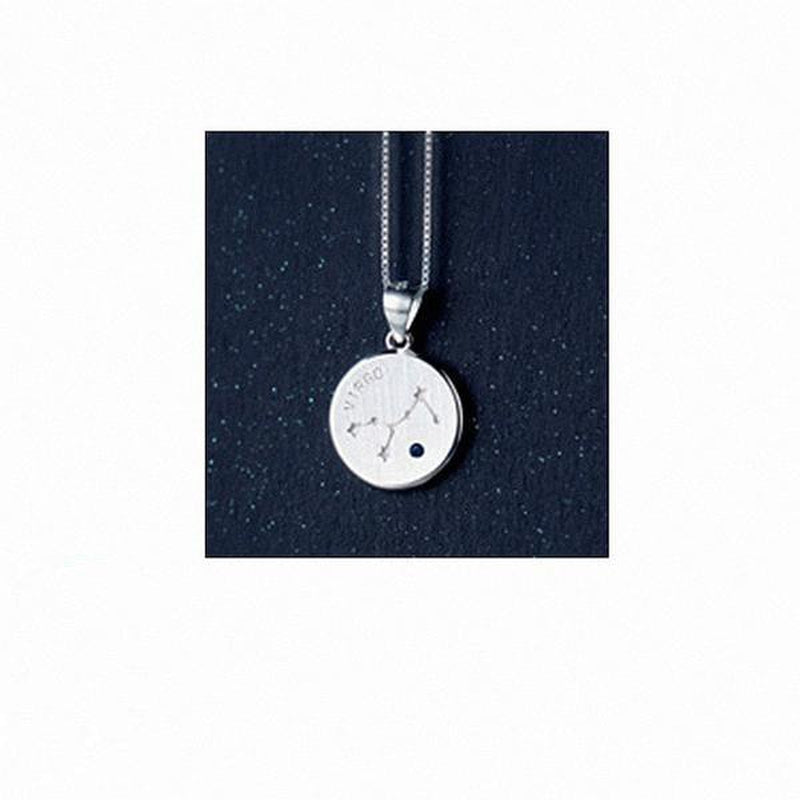 Your Zodiac Constellation Sterling Silver Necklace