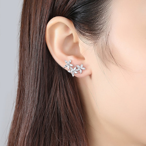 Gorgeous Floral Fashion Studs