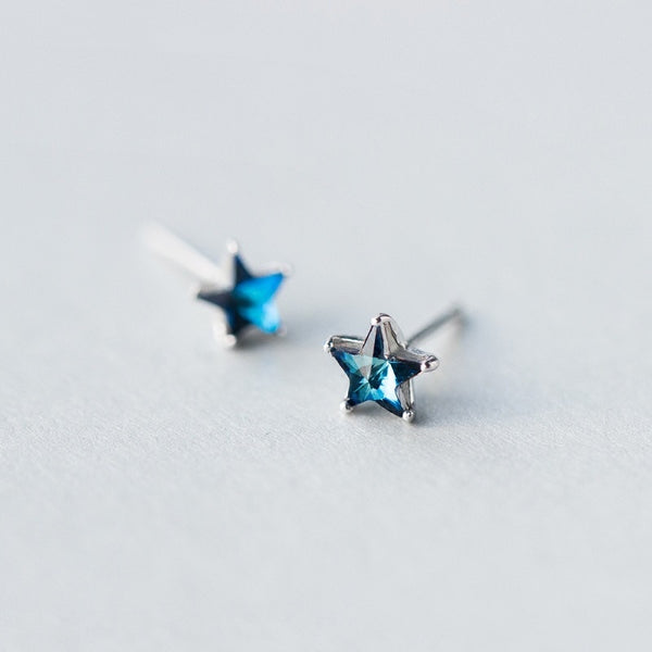 Luminous Star Sterling Silver Studs