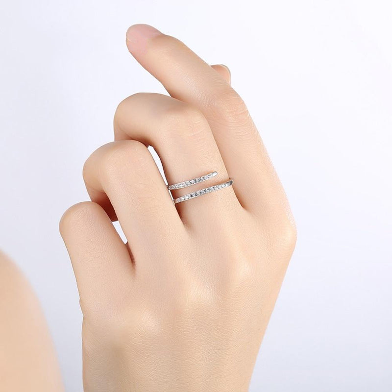 Aristrocratic Elegance Sterling Silver Ring