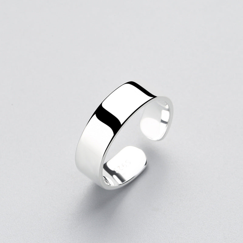 Intrepid Brilliance Sterling Silver Ring