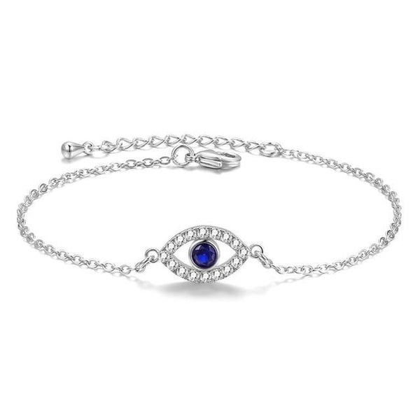 Charming Evil Eye Charm Fashion Bracelet