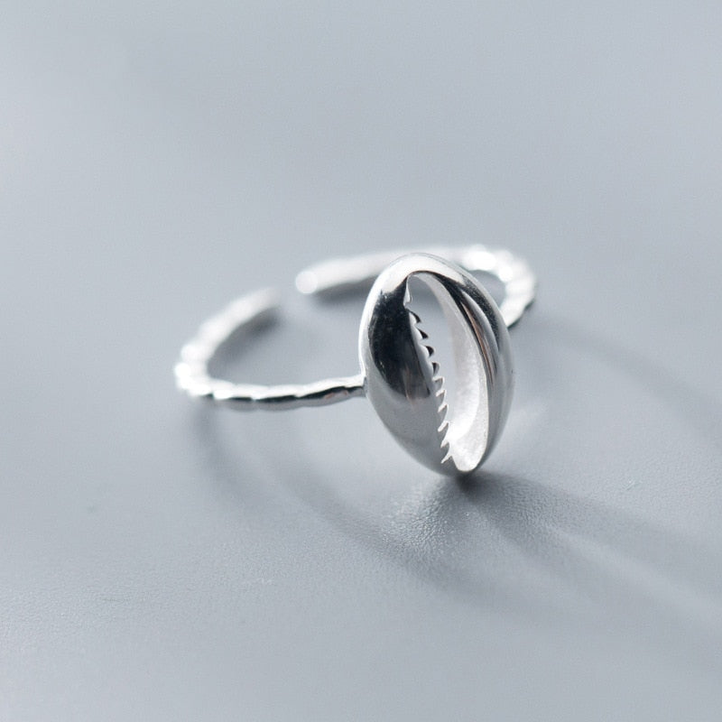 Cowrie Sea Shell  Ring