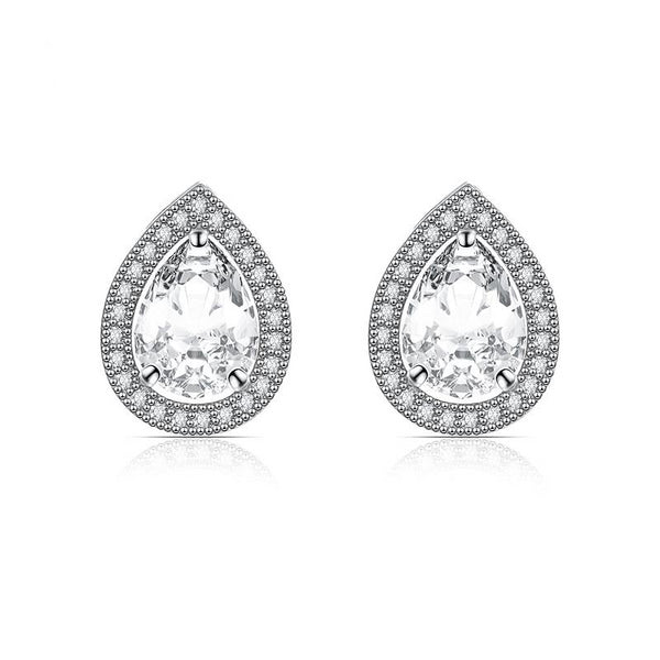 Magnificent Pear Drop Studs