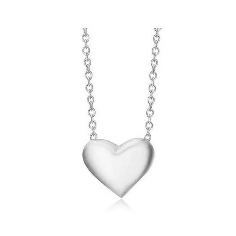Refined Heart Charm Fashion Necklace
