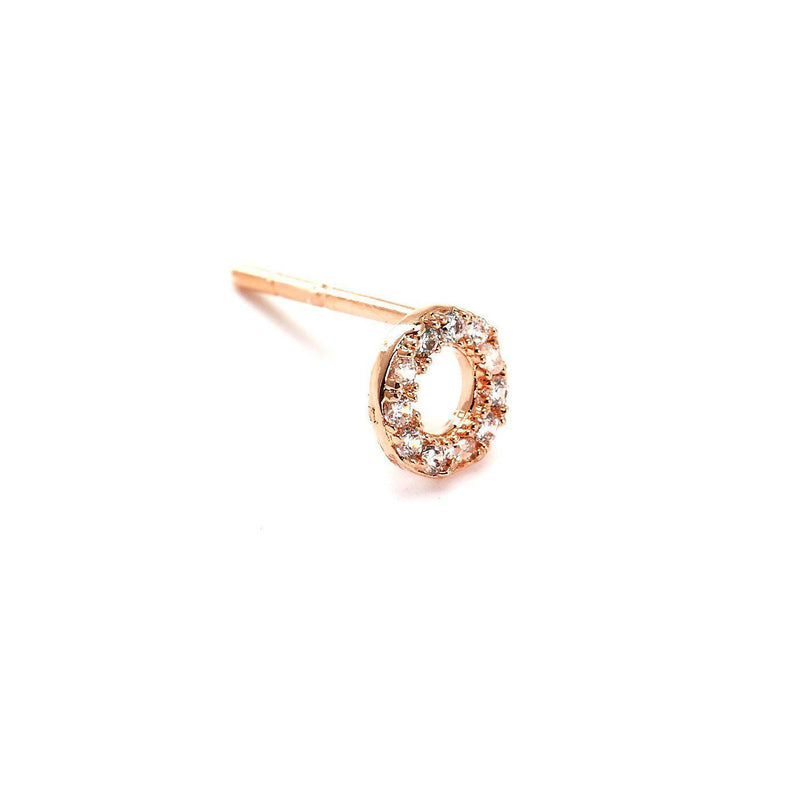 Riveting Round Charm Nose Pin-Blinglane
