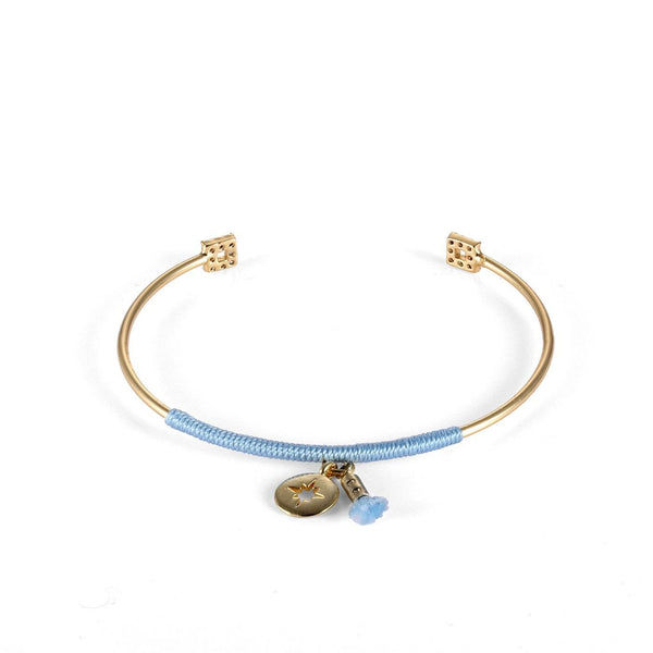 Sky Blue Vibes Tiny Fashion Bracelet-Blinglane