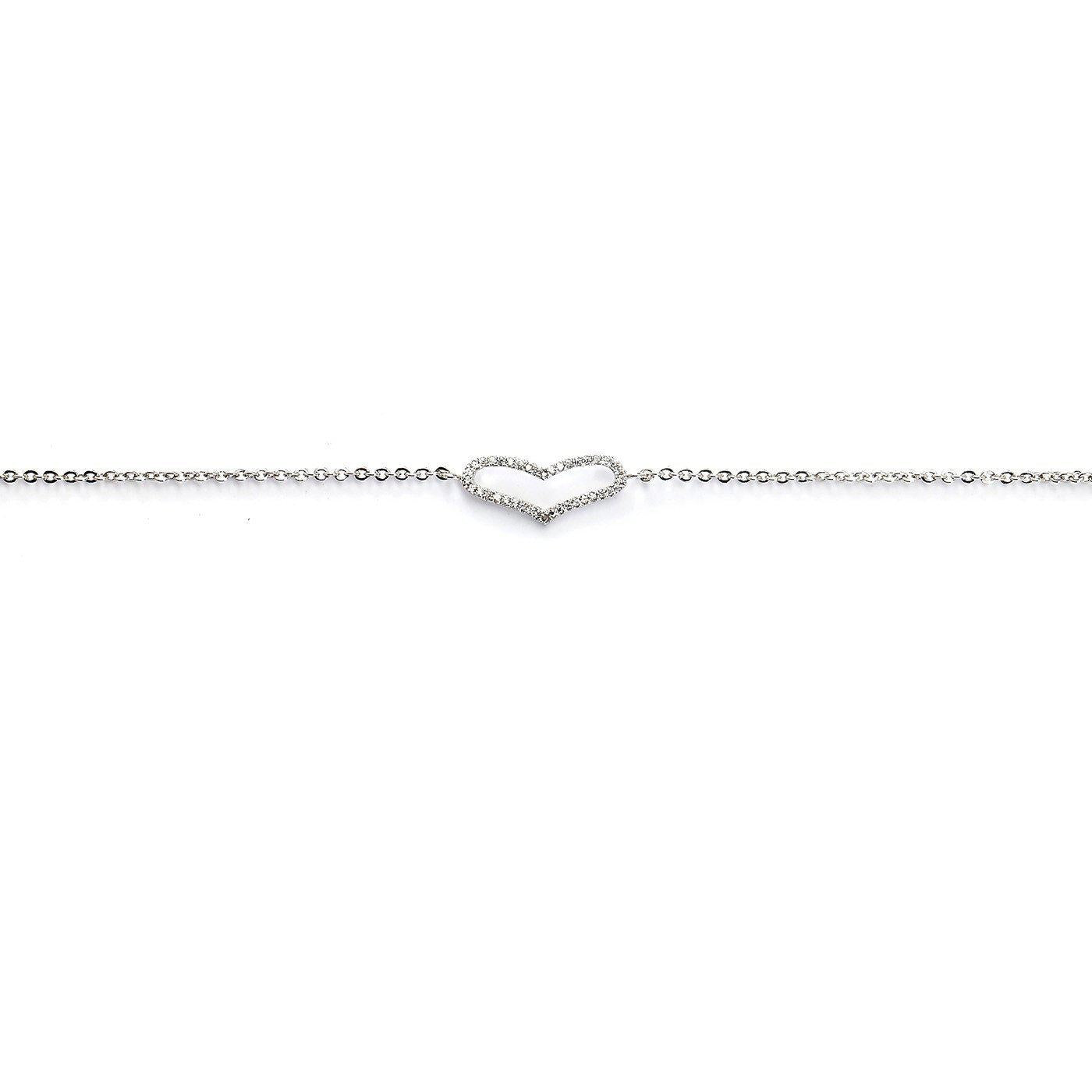 Sparkle Heart Waist Chain-Blinglane