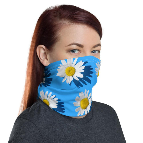 Statement Floral Neck Gaiter-Neck Gaiters-Blinglane